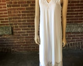 Long White Romantic Nightgown