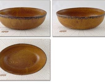 McCoy Canyon Serving Bowl,Vintage McCoy Pottery,Vintage McCoy Canyon Dinnerware,McCoy Canyon Oval Shaped Serving Bowl (Inventory #3939)