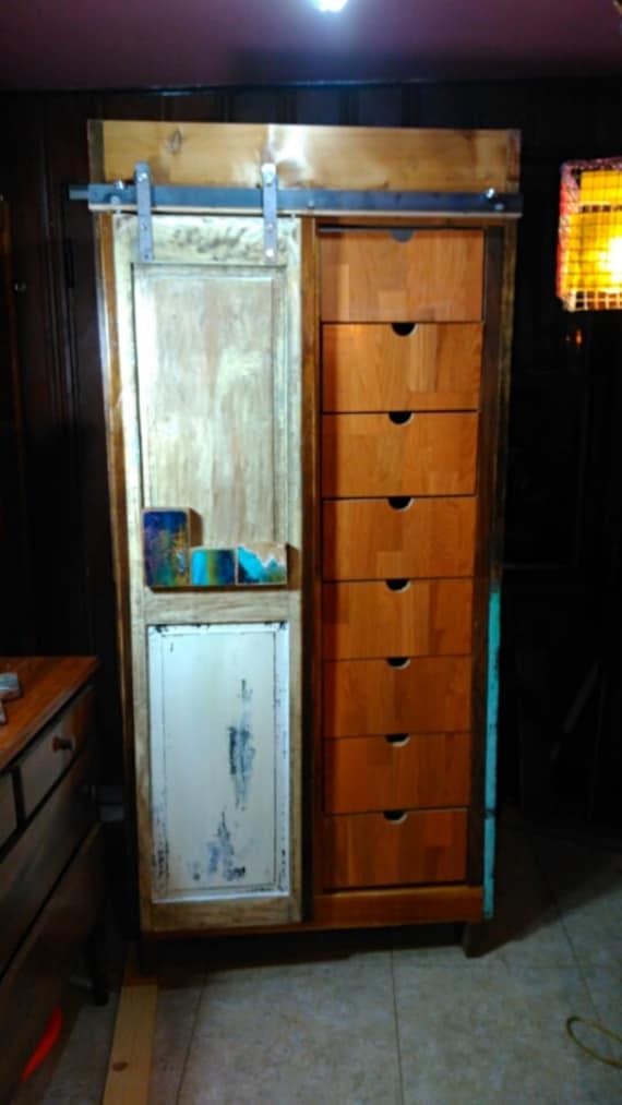 Custom Order Reclaimed Wood Armoire Wardrobe Storage Etsy