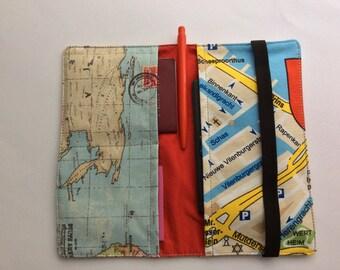 Travel wallet, passport holder, travel organizer, organizer, reisportefeuille, paspoorthouder, de organisator van de reizen,Amsterdam
