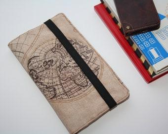 Reiseorganizer Dokumente - World map Travel wallet,travel organizer,  reisportefeuille, paspoorthouder, de organisator van de reizen