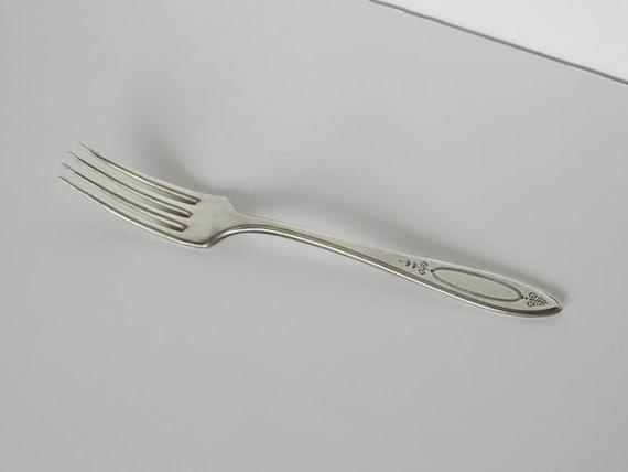 Adam 1917 Luncheon Fork Community Plate Oneida