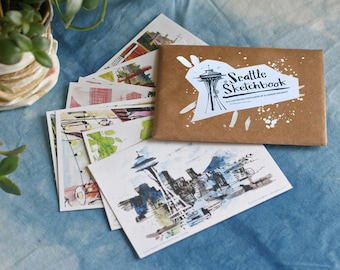 """SEATTLE POSTCARDS 