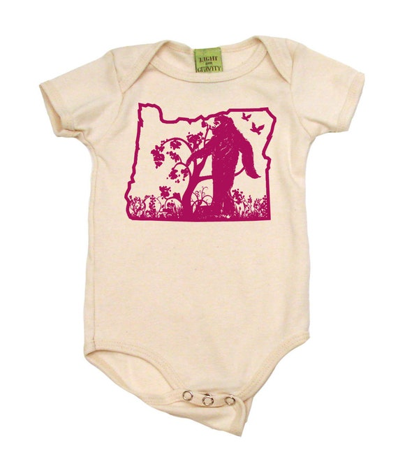 Baby Onesies Funny Bigfoot Sasquatch Full Moon Long Sleeve Bodysuit For Unisex Boys Girls 100/% Cotton