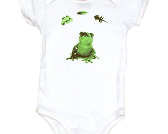 Frog Life Cycle Infant One Piece or Toddler Shirt