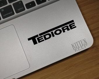 Borderlands Tediore Vinyl Decal   Borderlands Manufacturer Decals   Tediore   Gamer   Car, Phone, Laptop Decor