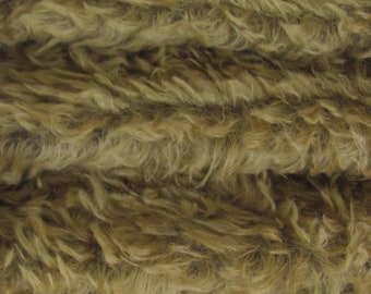 A German Mohair Fur Fabric for Teddy Bear Making Quality 325SCM Arts /& Crafts Fat Mohair-14 yard in Intercal/'s Color 100-White