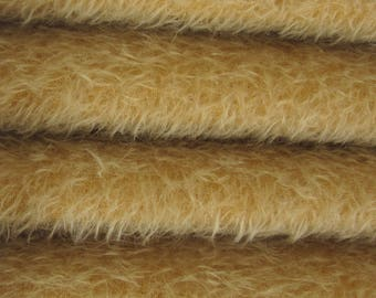 Quality 300S/CM - Mohair-1/6 yard (Fat) in Intercal's Color 795S-Sunlight. A German Mohair Fur Fabric for Teddy Bear Making, Arts & Crafts