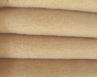 SAVE MONEY - 30.75 - Etsy Special - Quality ALP7/S - Alpaca  - 1/4 yard (Fat) in Intercal's Color 533S-Wheat. A German Alpaca Fur Fabric