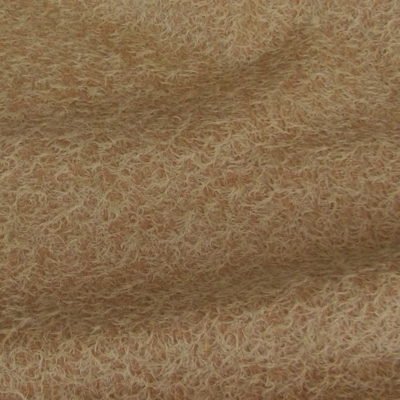 Mohair-13 yard in Intercal/'s Color 340S-Honey Tan A German Mohair Fur Fabric for Teddy Bear Making Quality 300SCM Arts /& Crafts
