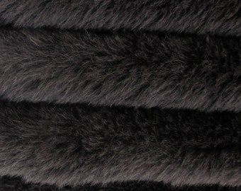 Quality ALP4/S - Alpaca  - 1/6 yard (Fat) in Intercal's Color 124-Black. A German Alpaca Fur Fabric for Teddy Bear Making, Arts  & Crafts
