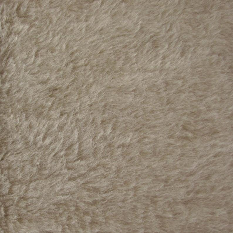 14 yard in Intercal/'s Color 528S-Cream A German Alpaca Fur Fabric for Teddy Bear Making Quality ALP7S Fat Arts /& Crafts Alpaca
