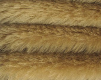 Quality 830S - Mohair - 1/6 yard (Fat) in Intercal's Color 941S-Straw.  A German Mohair Fur Fabric for Teddy Bear Making, Arts & Crafts