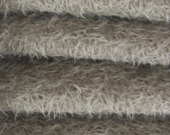 Quality 300S/CM - Mohair-1/3 yard in Intercal's Color 913S-Pewter. A German Mohair Fur Fabric for Teddy Bear Making, Arts & Crafts