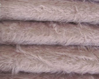 Quality 300S/C - Mohair - 1/3 yard in Intercal's Color 529S-Lilac. A German Mohair Fur Fabric for Teddy Bear Making, Arts & Crafts