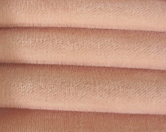 Quality 600S - Mohair - 1/6 yard (Fat) in Intercal's Color 588S-Pale Pink. A German Mohair Fur Fabric for Teddy Bear Making, Arts & Crafts