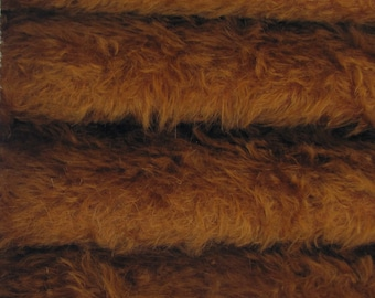 Quality 325S/C - Mohair - 1/6 yard (Fat) in Intercal's Color 167S-Redhead. A German Fur Mohair Fabric for Teddy Bear Making, Arts & Craft