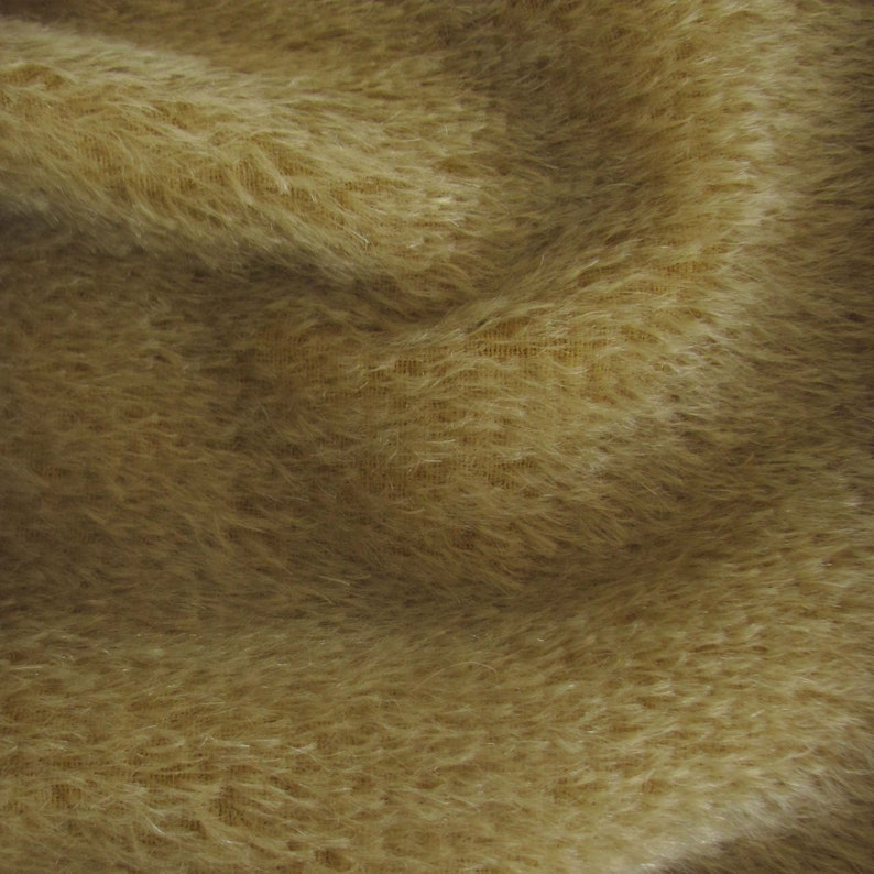 Arts /& Crafts Mohair Quality 300S 13 yard in Intercal/'s Color 322S-Buckwheat A German Mohair Fur Fabric for Teddy Bear Making
