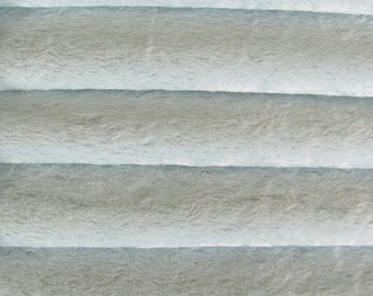 Quality VIS1 - Viscose -1/6 yard (Fat) in Intercal's Color 705S-Soft Blue. A German Viscose Fur Fabric for Teddy Bear Making, Arts & Crafts
