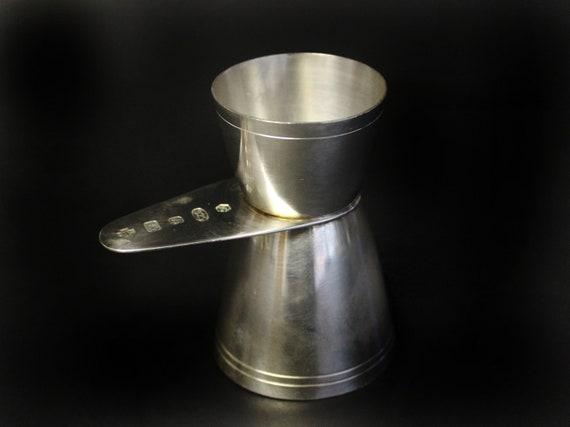 Sterling Silver Jigger Spirit Measure Double Ended