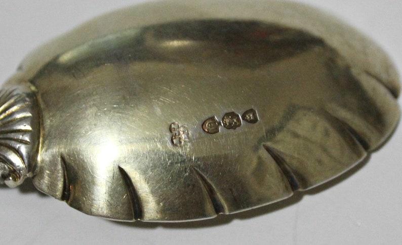 Antique en argent Sterling anglais chérubin Berry / écrou de service cuillères par James Wakely & Frank Clark Wheeler Ca 1891 or lavé