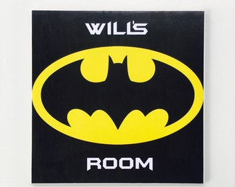 Ceramic Tile Wall Plaque - Custom Batman