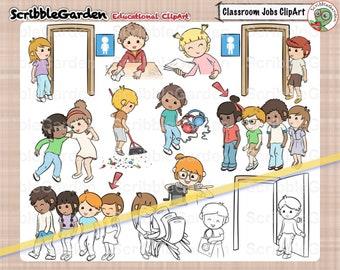 Classroom Jobs ClipArt