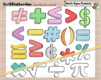 Math Signs and Symbols ClipArt