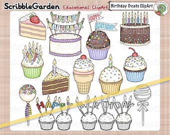 Birthday Cake Treats