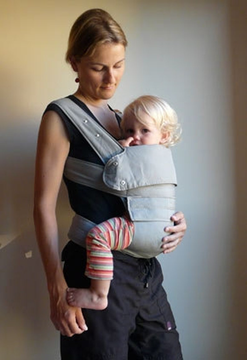 Marsupi Breeze A Baby Carrier Like No Other Soft Light Breathable Linen Cotton Blend Material Front Side And Back Carry Your Baby