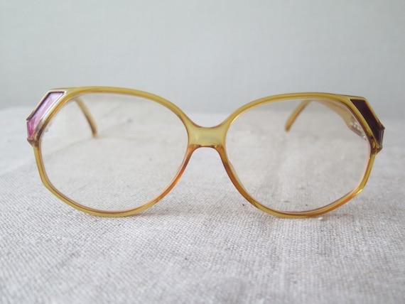 a0d41b7ed5e6 Vintage Christian Dior Glasses 2255 80 Germany Plastic Frames