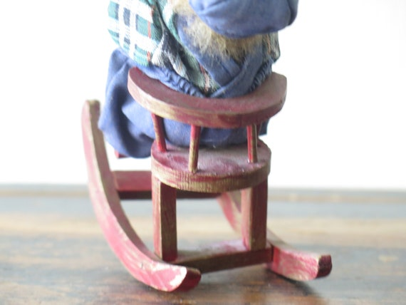 Remarkable Vintage Scandinavian Boy On Wooden Rocking Horse Chair Swedish Figurine Library Decor 228 10 Andrewgaddart Wooden Chair Designs For Living Room Andrewgaddartcom