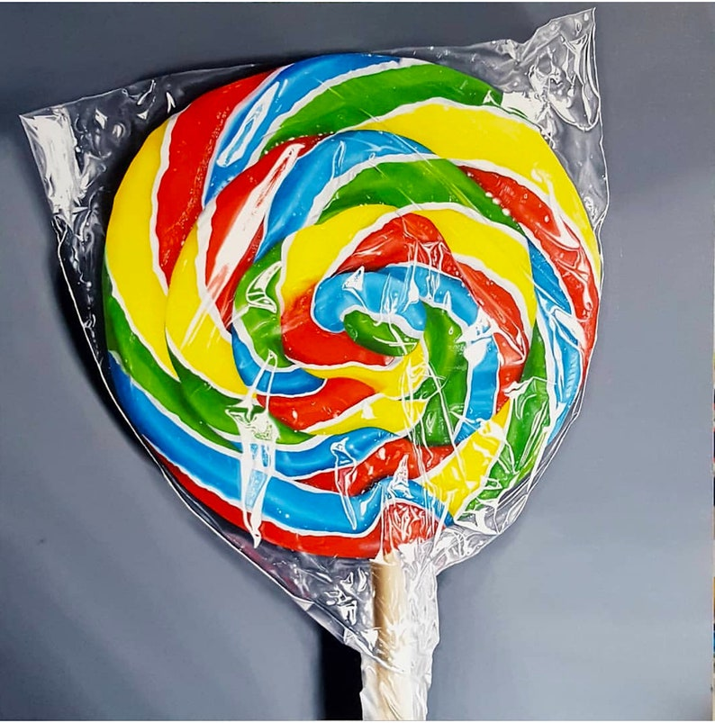 The Swirl  Original oil painting image 0