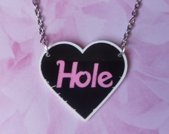 Hole Inspired Necklace