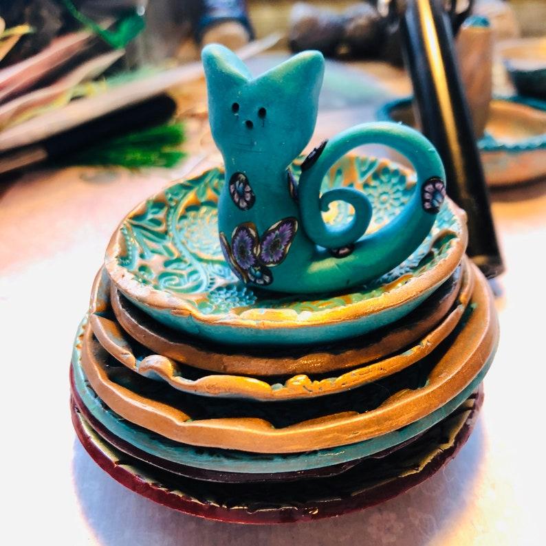Polymer Clay Trinket Bowl