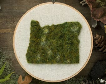 Oregon State, Moss Wall Art