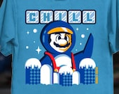 Penguin Mario | Russ Lyman