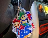 Artist Designed Super Mario Keychain by Russ Lyman