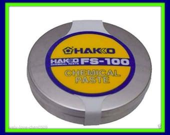 Hakko Tip Cleaning Paste,  Lead Free, 10 Gram Tin.