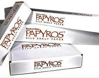 PAPYROS™ Kiln Shelf Paper, 1 Roll, 41 in. x 33 ft. 112.75 sq. ft.