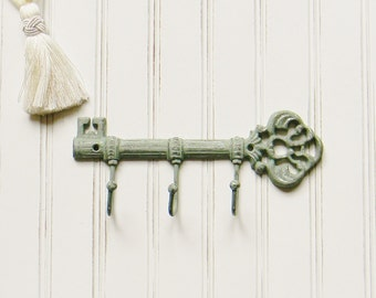 Cast Iron Key Hook, Wall Decor, Key Holder, Wall Key Holder, Key Rack, Realtor Gift, Decorative Key Hook, Key Hook, Housewarming Gift