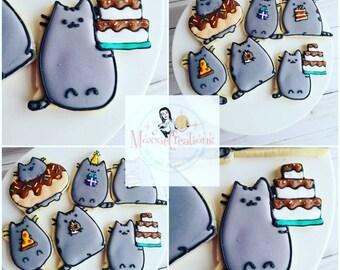 Pusheen Foodie Cookies