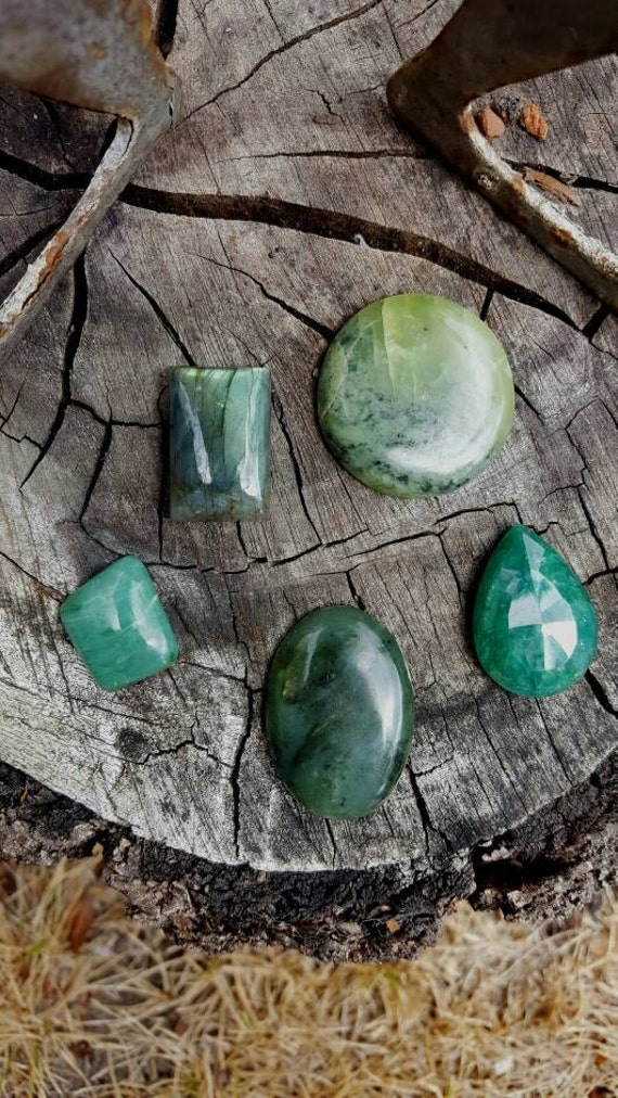 Earthly Pleasures Parcel~Cabochons