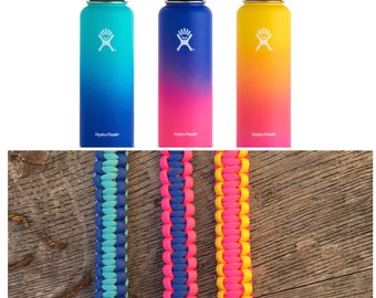 Hydro Flask Handle Hawaii Collection, hydroflask Paracord Water Bottle Holder