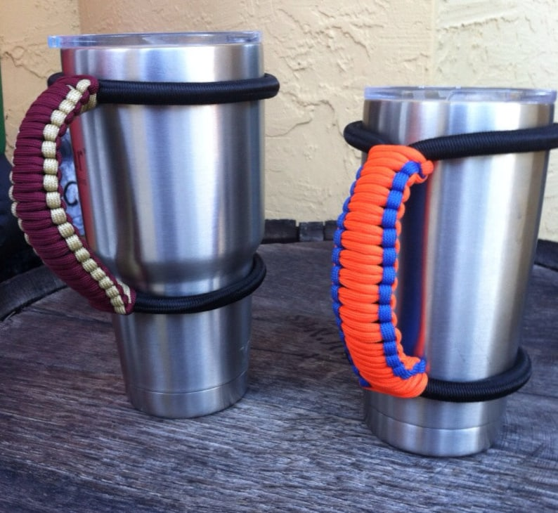 4156d82fef2 Yeti Handle College Team Colors Paracord Handle for 30 and 20 image 0 ...