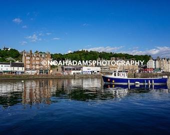 Oban Harbor - Oban, Scotland (PRINT)
