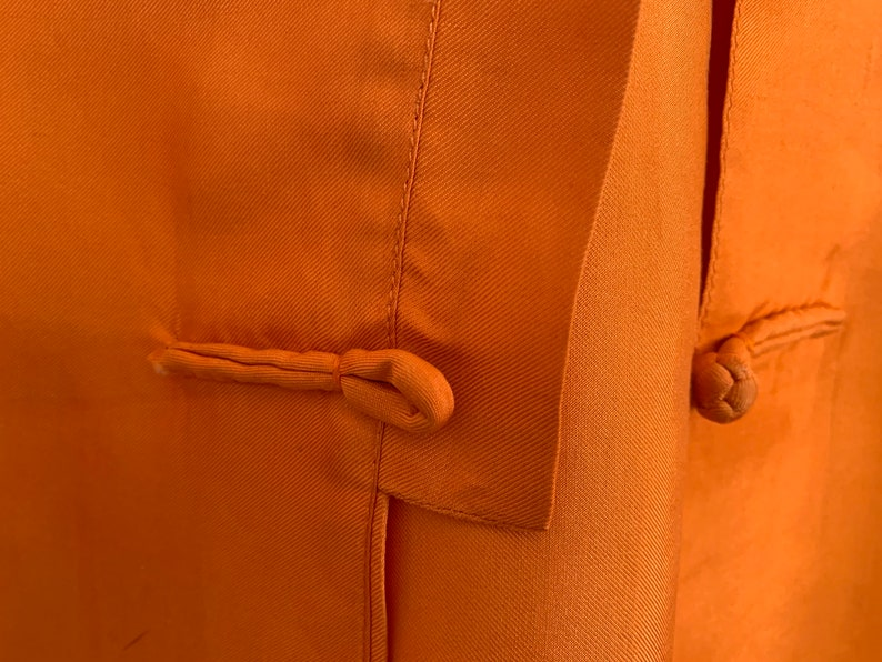 Beautiful Vintage Silk Cat Ba Vietnamese Tunic Blouse Small Medium Size