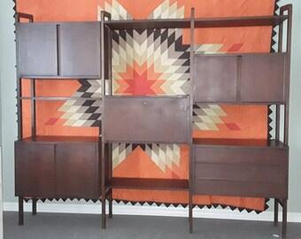 Mid century wall unit/room divider