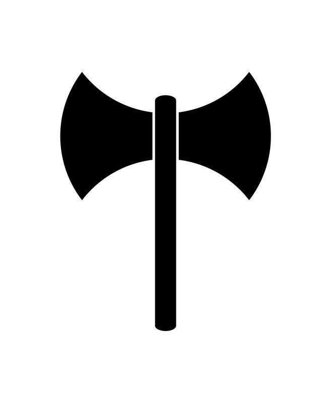 Labrys Lesbian And Feminist Strength Support Pride Symbol