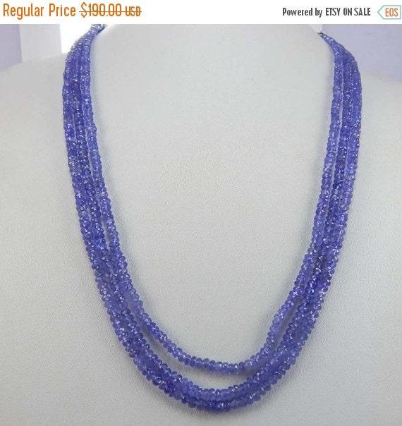 Faceted Rondelle Tanzanite: On Sale Shop Sale Faceted Tanzanite Rondelles Beads Luxe